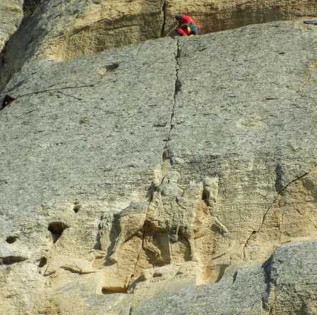 Instrumental monitoring of cracks affecting the stability of the Madara Horseman, Madara National Historical and Archaeological Reserve, Shumen Region